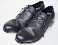 PADRONE(パドローネ)  Derby Plain Toe Shoes プレーントゥ BLK