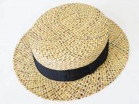 EDO HAT(エドハット)  天然草カンカン帽 NAT
