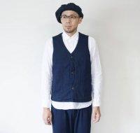 JAPAN BLUE JEANS(ジャパンブルージーンズ)  刺子ハンティングベスト インディゴサシコ