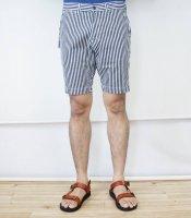 JAPAN BLUE JEANS(ジャパンブルージーンズ)  Knee Shorts ヒッコリーストライプ
