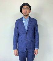 <img class='new_mark_img1' src='https://img.shop-pro.jp/img/new/icons14.gif' style='border:none;display:inline;margin:0px;padding:0px;width:auto;' />JAPAN BLUE JEANS(ジャパンブルージーンズ)  SHIN-DENIMテーラードジャケット BLU