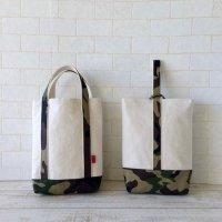 シューズバッグ | シンプルトート 迷彩