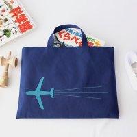 レッスンバッグ | 飛行機 | ネイビー