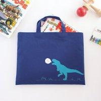 レッスンバッグ | 恐竜くん | ネイビー