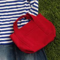with tote/red