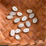 トナカイの角 ボタン 3個セット フィンランド製