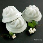 陶器製 ゼリーモールド 菓子型 ヴィンテージ フィンランド製