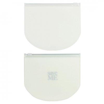 FENICE SAVE ME 抗菌・防カビ・消臭マスクケース ◎ラウンド/ホワイト 2個