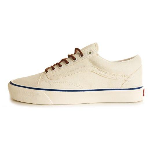 【VANS CLASSIC PLUS】OLD SKOOL LITE +  (Vintage) Classic WHITE【シューズ・スニーカー・靴】
