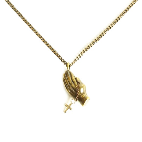 【CLUCT】GOOD GOD NECKLACE ANTIQUE【ネックレス】