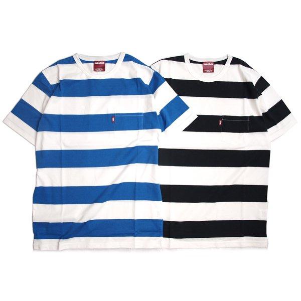 【HideandSeek】BORDER POCKET S/S TEE【ボーダーポケTシャツ】