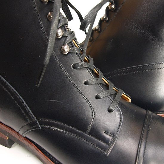 CALEE ACCESSORY LACE UP BOOTS AW072
