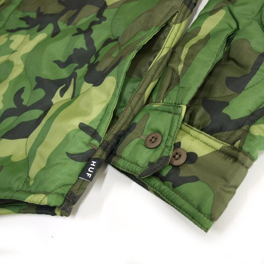 HUF 【SALE】QUILTED BDU SHIRTS JACKET