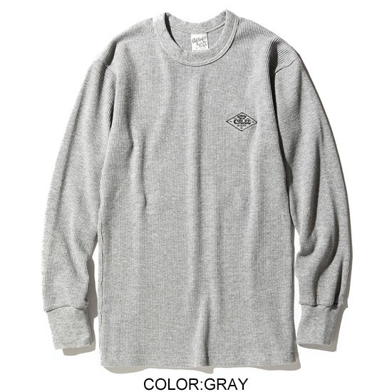 CALEE CREW NECK THERMAL SS008
