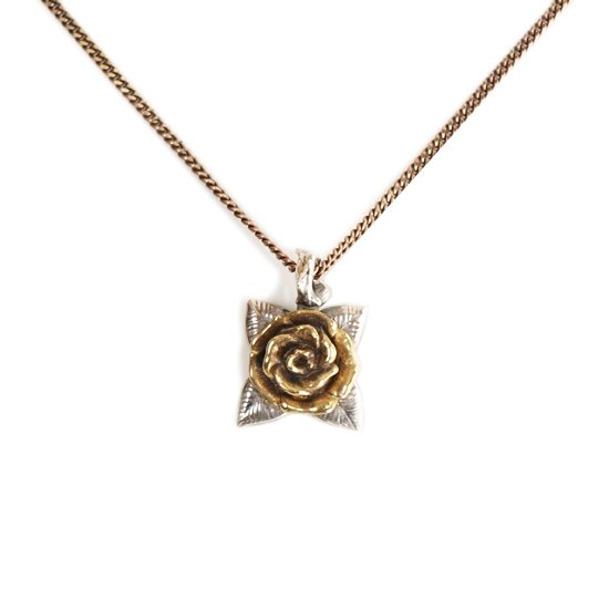 【CLUCT】ROSE NECKLACE 【ANTIQUE】【ネックレス】
