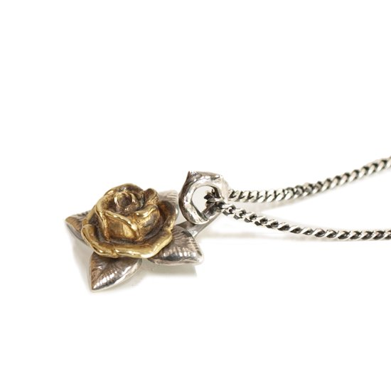 CLUCT ROSE NECKLACE 【SILVER】