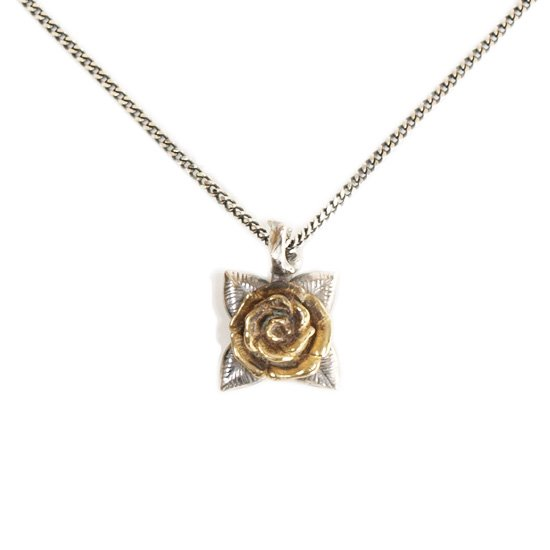 【CLUCT】ROSE NECKLACE 【SILVER】【ネックレス】