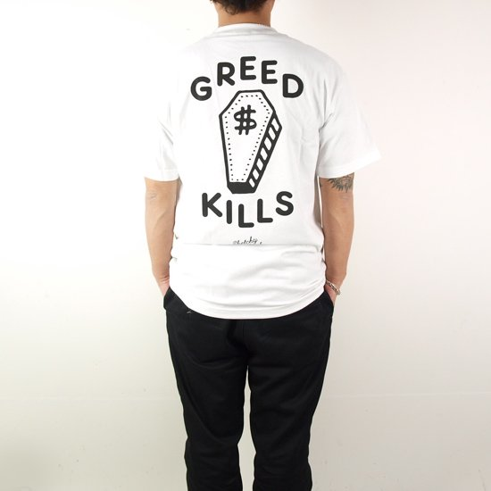 LURKING CLASS(SKETCHY TANK) GREED TEE