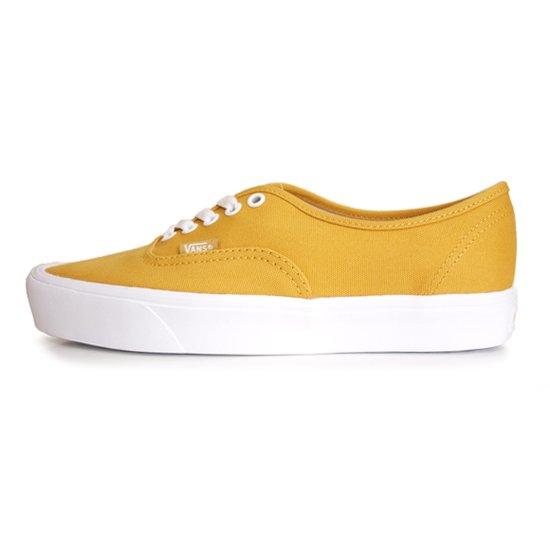 【VANS CLASSIC PLUS】AUTHENTIC LITE + CANVAS GOLD YELLOW【シューズ・スニーカー・靴】
