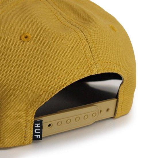 HUF DUCK CANVAS BOX LOGO SNAPBACK CAP