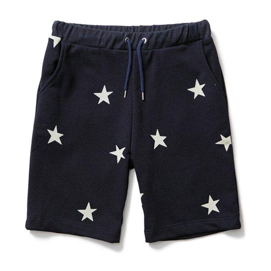 【CLUCT/クラクト】STAR SWEATSHORT【スウェットショーツ】