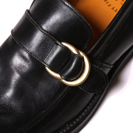 CALEE ACCESSORY LOAFER TYPE LEATHER SHOES