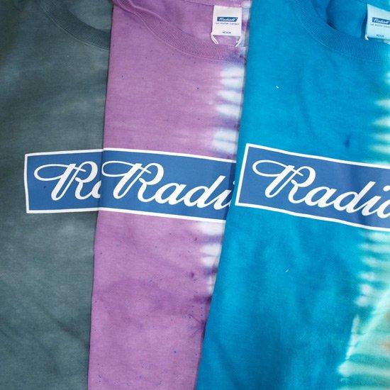 RADIALL PSHYCO FRAG D.Y.E T-SHIRT
