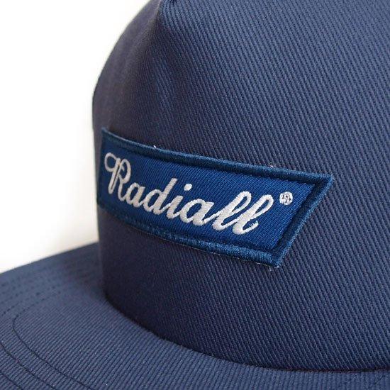 RADIALL BLUE FLAG TRUCKER CAP