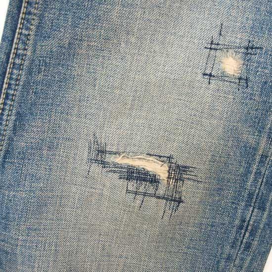 CALEE USED FIVE POCKET SLIM DENIM PANTS SS120