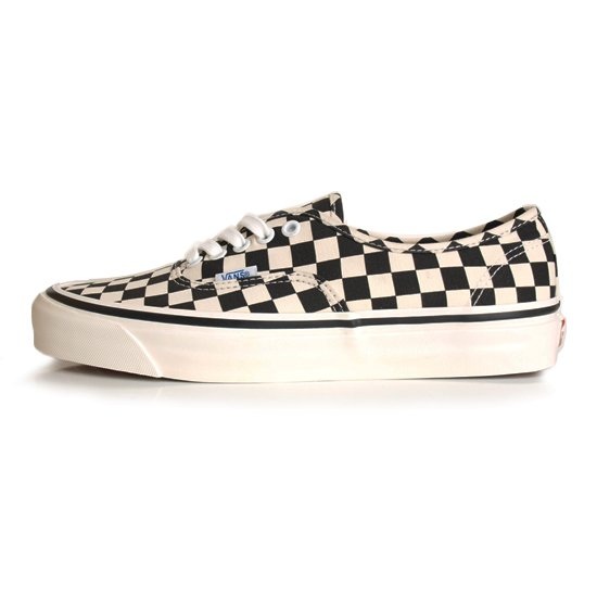 【VANS Anaheim Factory Collection】AUTHENTIC 44 DX BLACK/CHECK【シューズ・スニーカー・靴】
