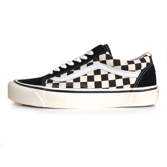 【VANS Anaheim Factory Collection】OLD SKOOL 36 DX  BLACK/CHECK【シューズ・スニーカー・靴】
