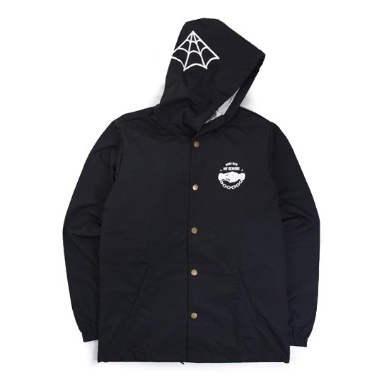 【SKETCHY TANK】DEMONS HOODES COACHES JACKET【フードジャケット】