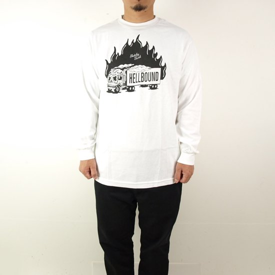 LURKING CLASS(SKETCHY TANK) HELL BOUND LONG SLEEVE TEE