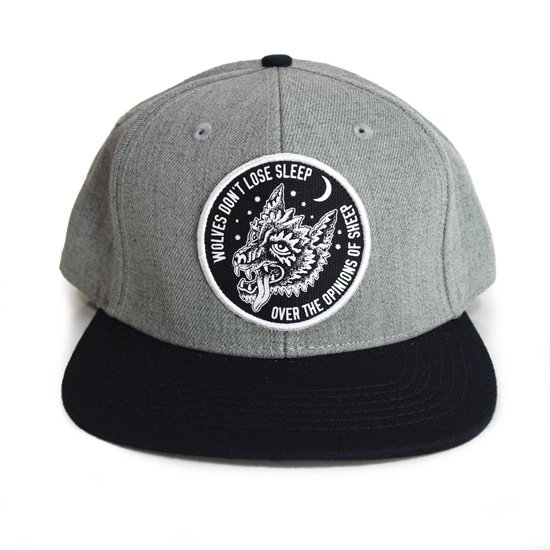 【SKETCHY TANK】OPINIONS SNAP BACK CAP【キャップ】