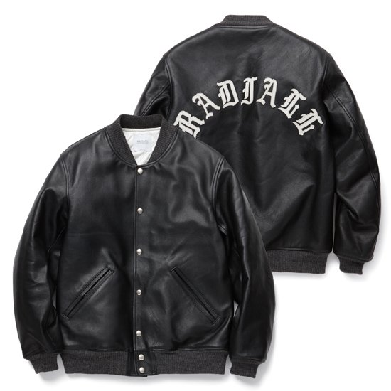 【RADIALL】FIFTEENTH AWARD JACKET PATCH【レザージャケット】