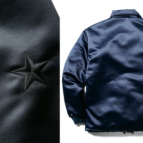 CLUCT LINED SATIN COACH JACKET