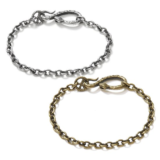 【CLUCT】PEACE SNAKE BRACELET【ブレスレット】