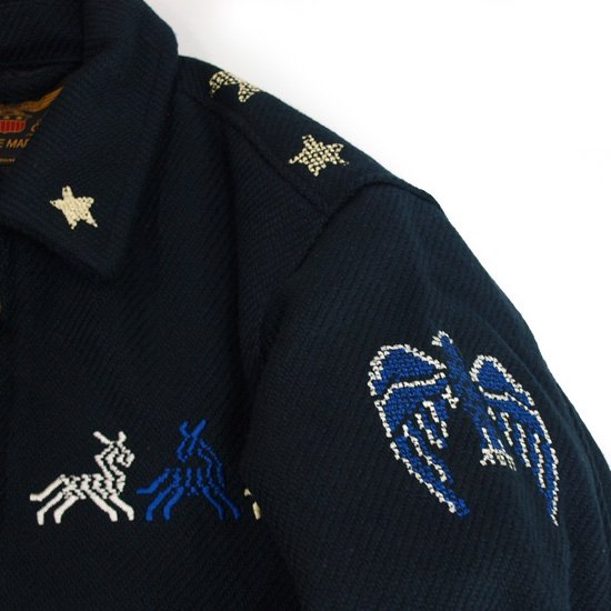 CALEE COTTON SOUVENIR JACKET