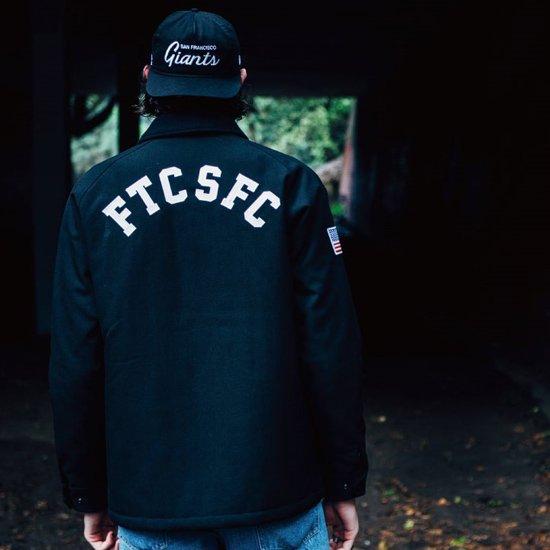 FTC FTC x SF GIANTS x NEW ERA - SF WOOL COACH JACKET