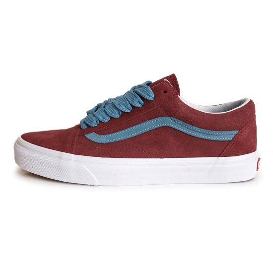 VANS OLD SKOOL OVER SIZED LACE [CABERNET]