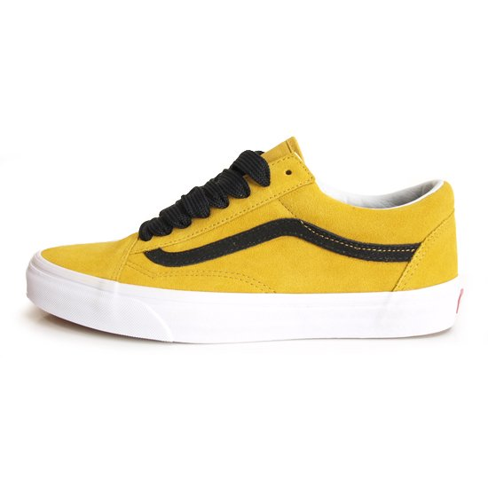 VANS LIFE STYLE / バンズ OLD SKOOL OVER SIZED LACE [TAWNY OLIVE]【シューズ・スニーカー・靴】