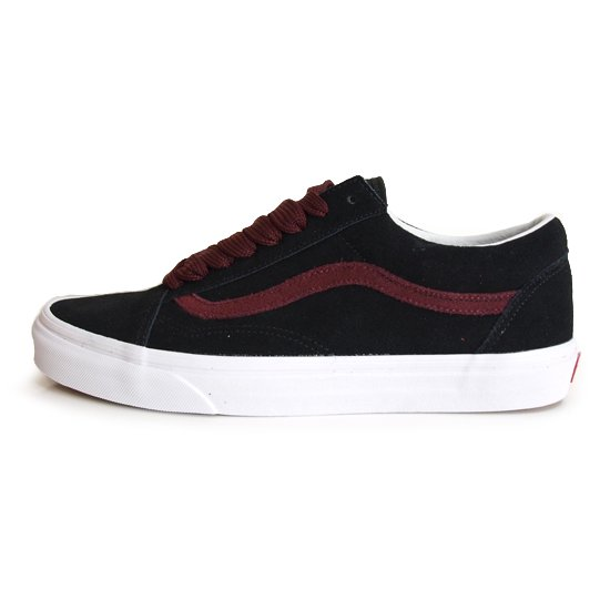 VANS LIFE STYLE / バンズ OLD SKOOL OVER SIZED LACE [BLACK]【シューズ・スニーカー・靴】