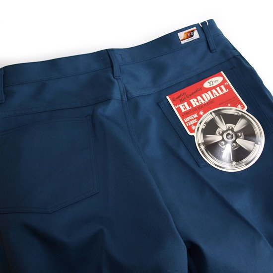 RADIALL CVS WORK PANTS STRAIGHT FIT
