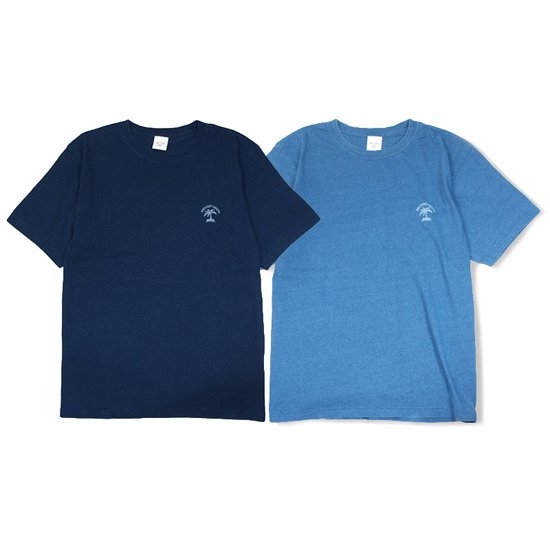【ONE'S FORTE ORIGINAL】PALM OP I LOSE INDIGO T-SHIRT【Tシャツ】
