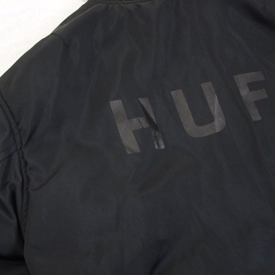 HUF SPACE RACE MA-1 JACKET(REVERSIBLE)