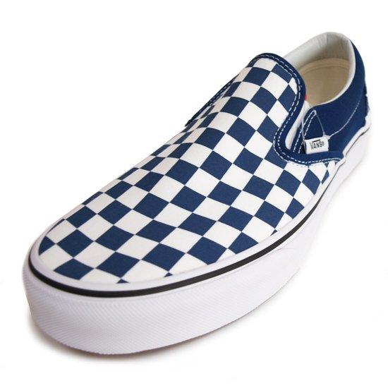 VANS CLASSIC SLIP-ON ESTATE BLUE/T.WHITE
