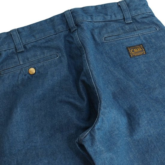 CALEE CHINO DENIM PANTS