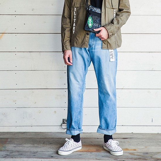 ROUGH AND RUGGED FOUL BANKS WORK DENIM PANTS