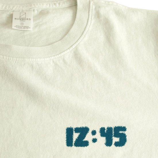 NUMBERS 12:45 SWIRL L/S TEE