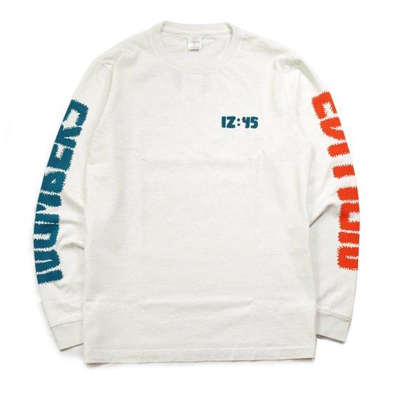 【NUMBERS・ナンバーズ】12:45 SWIRL L/S TEE【ロングスリーブTシャツ】